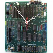 Large Apple Clock - 1984 IIe Circuitboard