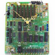 Large Apple Clock - 1984 Circuitboard