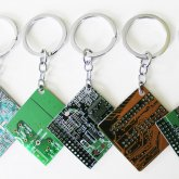 Buy 3 get 1 Free - Circuitboard Keychains