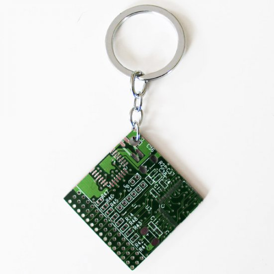 Buy 3 get 1 Free - Circuitboard Keychains - Click Image to Close