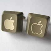 Apple Cufflinks - Apple III Keys