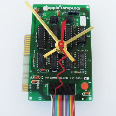 Apple Clock - 1983 Circuitboard