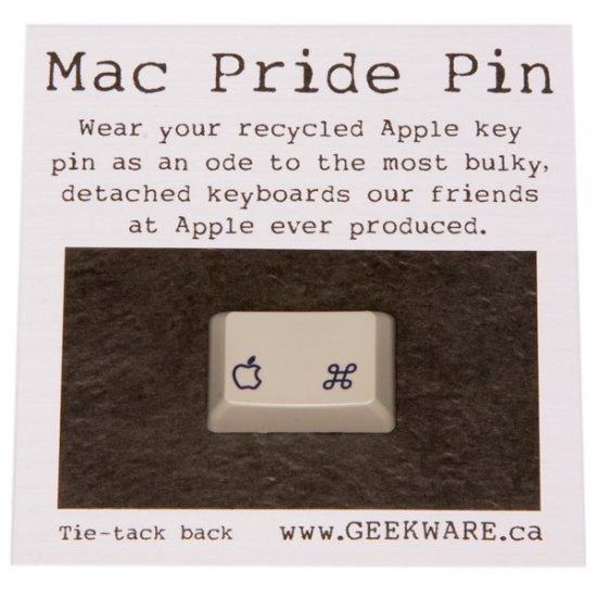 MAC Pride Pin - Click Image to Close