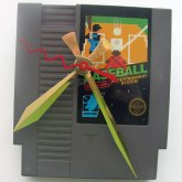 Nintendo Game Cartridge Clock - Baseball