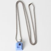 Blue Escape Key Necklace