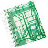 NEW! Circuitboard Notebook
