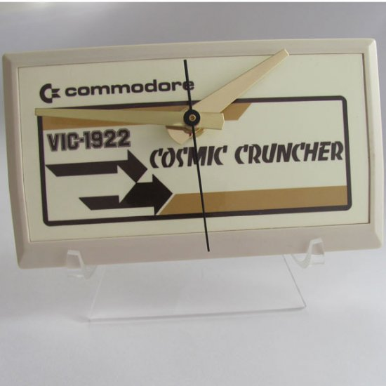 NEW! Commodore Cartridge Clock - Cosmic Cruncher - Click Image to Close