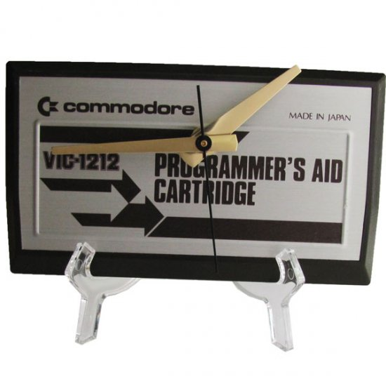 NEW! Commodore Programmer's Aid Cartridge Clock - Click Image to Close