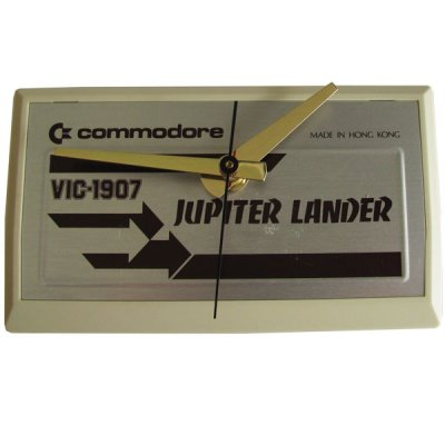 Commodore Cartridge Clock - Jupiter Lander