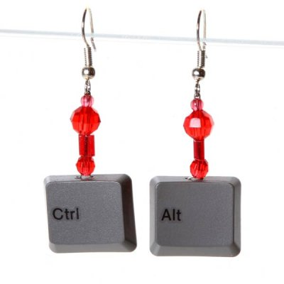 Control Alt Earrings