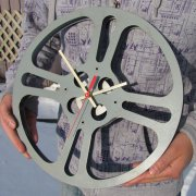 NEW! Vintage Film Reel Clock - XLarge