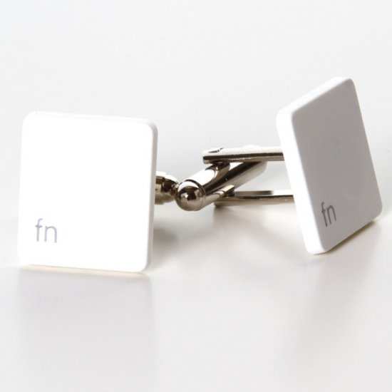 MacBook Cufflinks - Fn - Click Image to Close