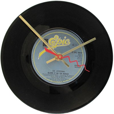 The Jacksons Record Clock - Blame It On The Boogie