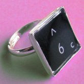 Lucky Number Rings - Black