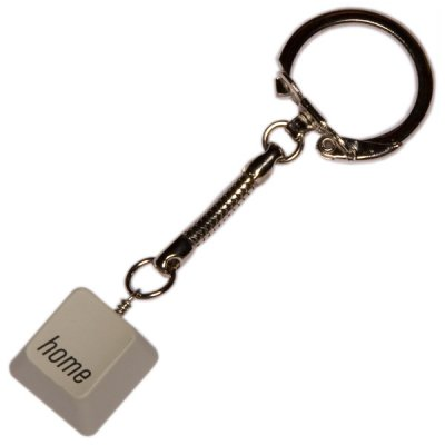 MAC Keyboard Keychain - Home