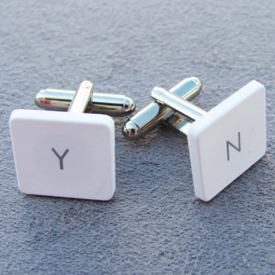 MacBook Cufflinks - Y / N