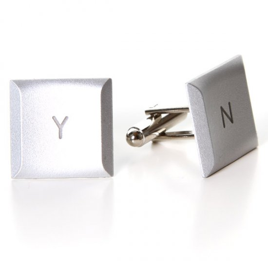 MacBook Pro Cufflinks - Y / N - Click Image to Close