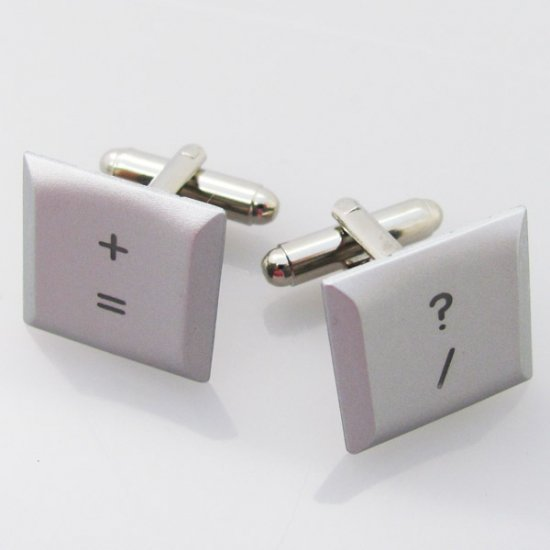 MacBook Pro Cufflinks - Math keys - Click Image to Close