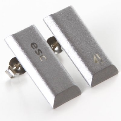 MacBook Pro Stud Earrings - Esc Eject