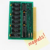 1988 Apple IIe 64K circuitboard Fridge Magnet
