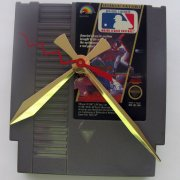 Nintendo Game Cartridge Clock - Major League Baseball