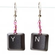 New York or Yes No Earrings