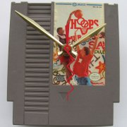 Nintendo Game Cartridge Clock - Hoops