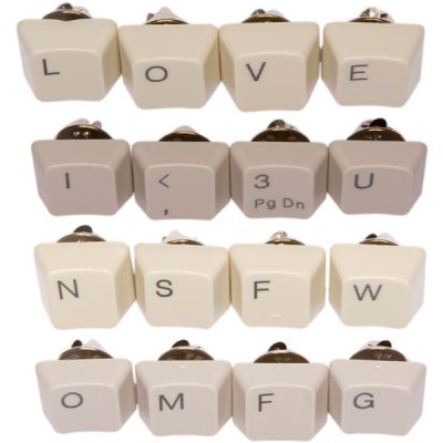Custom Keyboard Pin Set