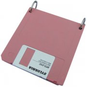 Pink Diskette Notebook