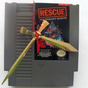 Nintendo Game Cartridge Clock - Rescue