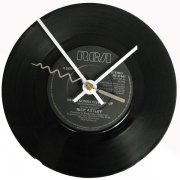 Rick Astley Record Clock - Never Gonna Give You Up