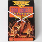 SEGA Genesis Secrets Book Clock