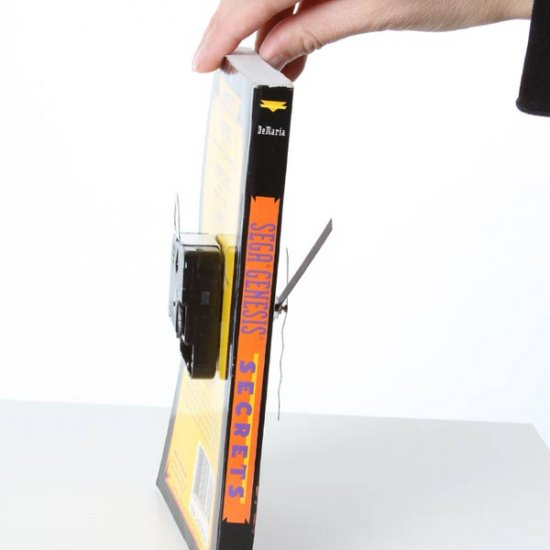 SEGA Genesis Secrets Book Clock - Click Image to Close