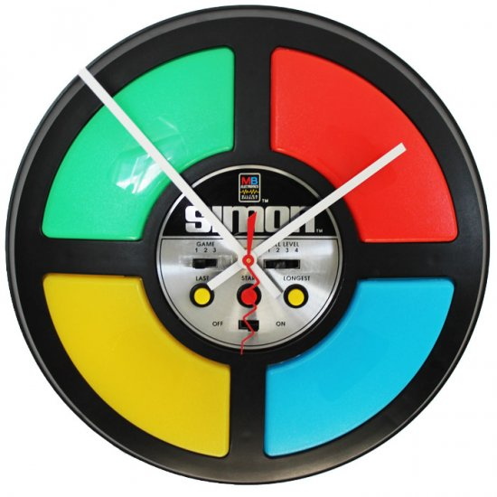 Simon Game Clock - Click Image to Close