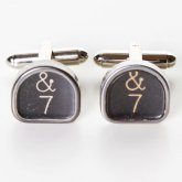 Typewriter Key Cufflinks - And 7 keys