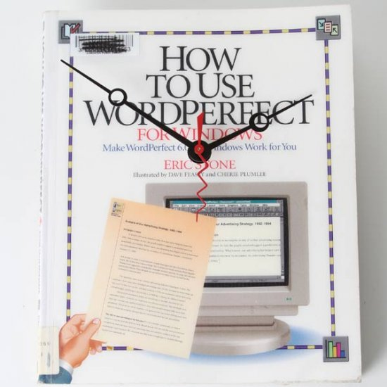 Wordperfect Book Clock - Click Image to Close