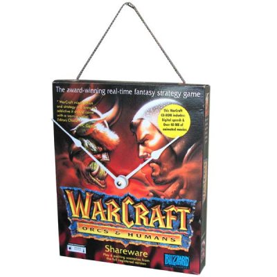 Warcraft Clock