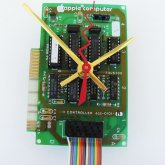 Apple Clock - 1983 Circuitboard with rainbow cord